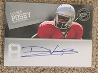 DEVIER POSEY AUTOGRAPHED ROOKIE OHIO STATE BUCKEYES IN OSU UNIFORM