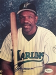 "ANDRE DAWSON HOF SIGNED 8x10 PHOTO in RARE MARINERS JERSEY ""10 BOLD""  $15 JSA COA"