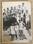 Super Rare: 1936 GERMAN OLYMPIC 5x7 #13 OLYMPIC JESSIE OWENS CARD FROM Germany