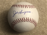 JIM GREENGRASS Signed MLB Ball from our last private signing
