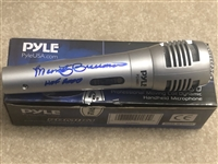 MARTY BRENNAMAN Signed Inscribed Real Working Microphone SGC